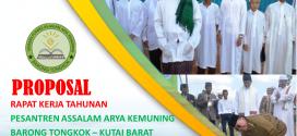 Proposal Agenda RAKER Tahunan Ke-2 PP Assalam (27-29 Des 2014)