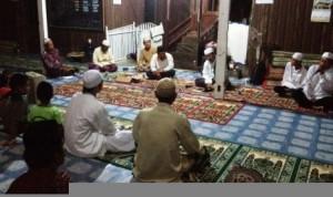Safari Dakwah di Masjid Asshobirin, Kampung Muara Siram, Bongan, Kutai Barat.