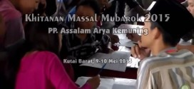 [Video] Khitanan Massal Mubarok Pondok Pesantren Assalam Kutai Barat