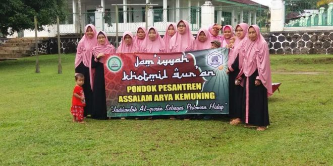 Khotaman Hafalan Al Qur'an Warga Ibu-ibu PP Assalam