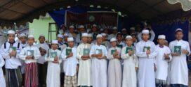 Program Berbagi Bingkisan Lebaran 2000 Santri dan Muallaf di PP Assalam