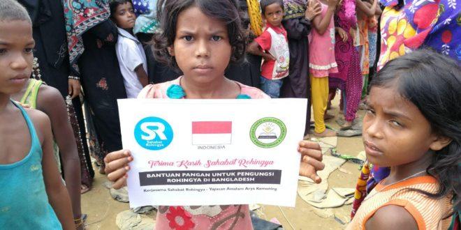 Assalam bersama ditengah Muslim Rohingya
