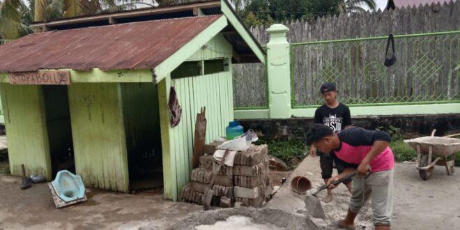 Rehab WC Masjid – Royong Santri