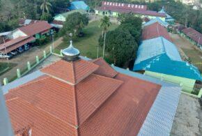 Lingkungan Kampus Pondok Pesantren Assalam -Terlihat dari udara